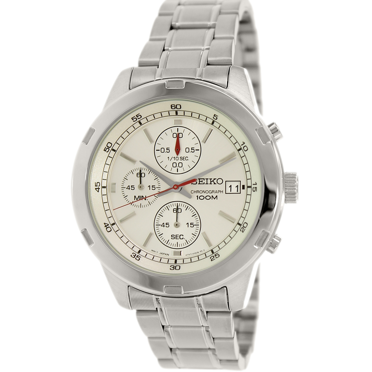 Seiko Men's SKS417 Silver Stainless-Steel Quartz Watch