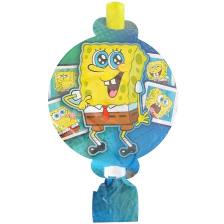 SpongeBob SquarePants 'Selfies' Blowouts / Favors (8ct)
