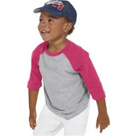 Toddler Baseball Fine Jersey T-Shirt Black And White Toddler Shirt