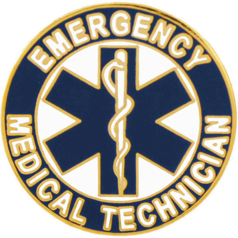 EMT Logo Pin 1