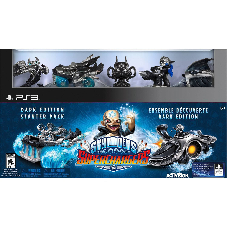 Skylanders SuperChargers Dark Edition Starter Pack - PlayStation 3