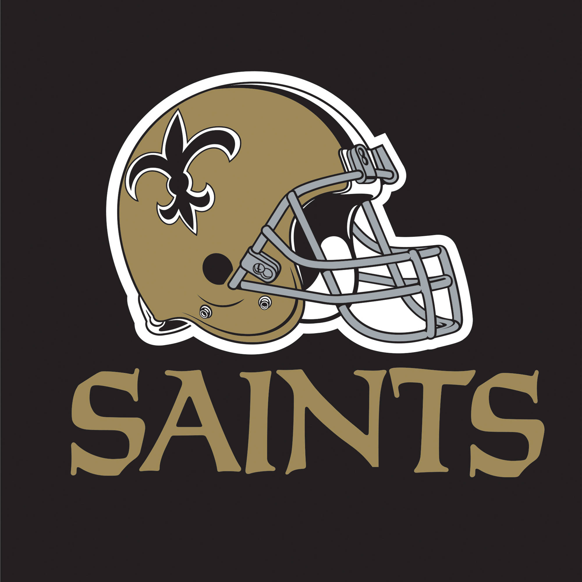 New Orleans Saints Napkins, 16-Pack