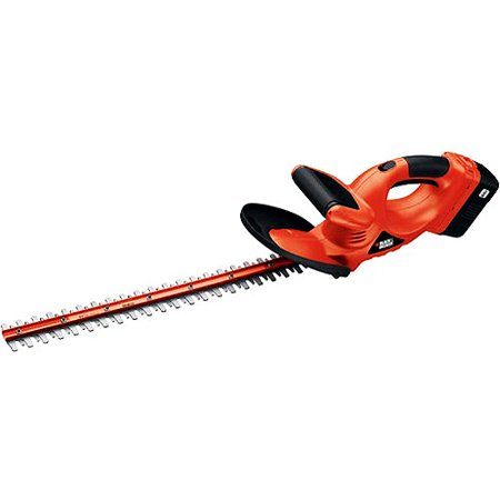 black decker nht524 24v cordless hedge trimmer. Black Bedroom Furniture Sets. Home Design Ideas