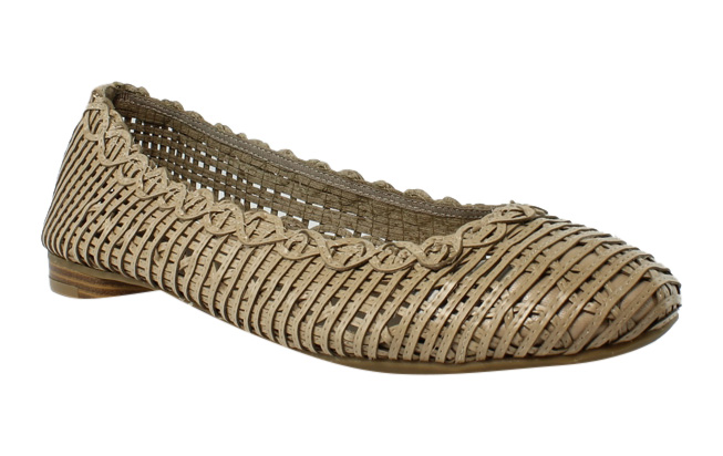 Lifestride E9208S1 Taupe Ballet Flats Womens Flats Size 11 New by LifeStride