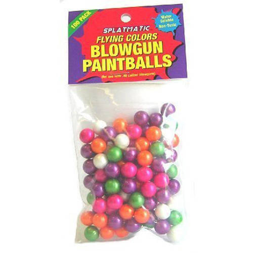 Palco .40 Caliber Paintballs, Bag of 100