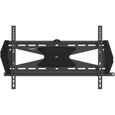 qualgear heavy duty fixed tv wall mount for most 37 70 flat panel and curved tvs black. Black Bedroom Furniture Sets. Home Design Ideas