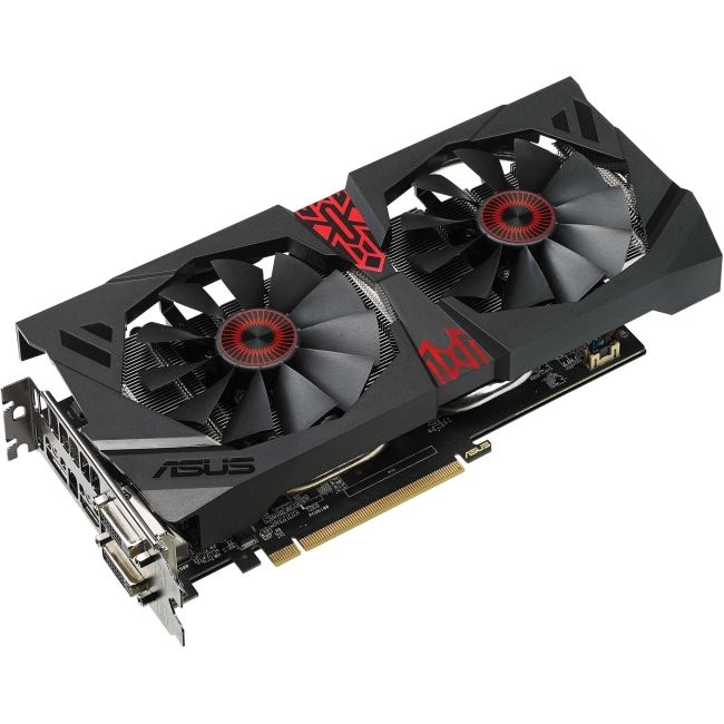 Asus Strix Radeon R9 380X Graphic Card - 990 MHz Core - 4 GB GDDR5