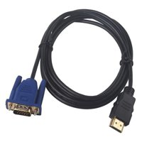 Esho HD 1080P HDMI Males To VGA Cables Converter Adapter W/Audioses for PC