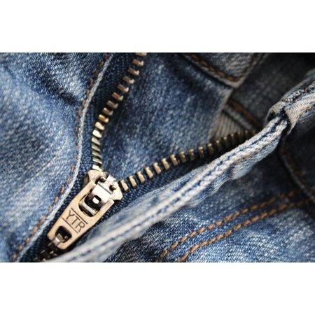 LAMINATED POSTER Close Up Pants Metal Fashion Jeans Clothing Zip Poster Print 24 x (Fashion Metal)