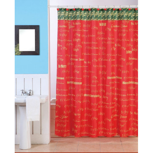 Christmas Shower Curtains Walmart Christmas Shower Curtai
