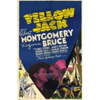 Posterazzi MOVIF3421 Yellow Jack Movie Poster - 27 x 40 in.