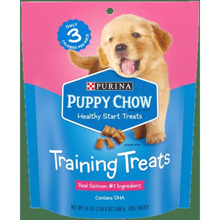Purina Puppy Chow Training Treats; Healthy Start Salmon Treats - 24 oz. Pouch](Creative Healthy Halloween Treats)