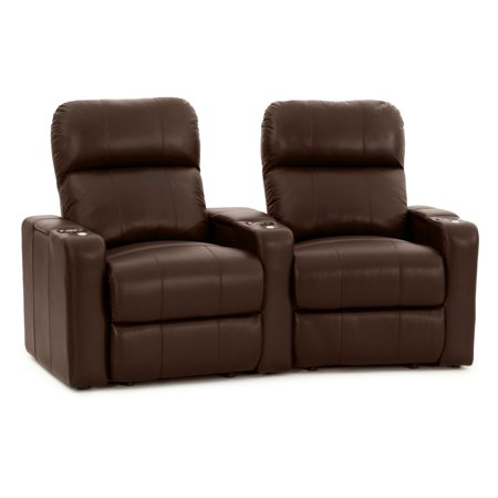 Octane Turbo XL700 2 Seater Curved Power Recline Home Theater Seating