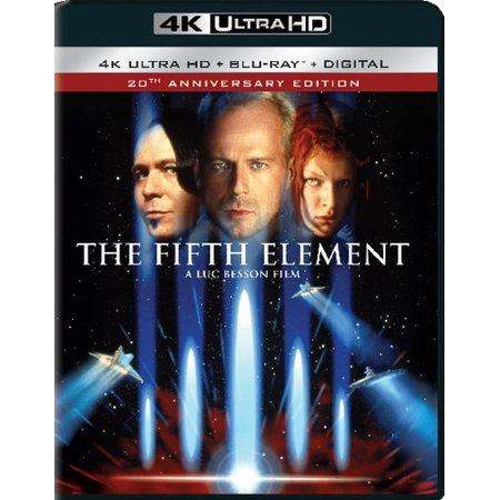 The Fifth Element (20th Anniversary Edition) (4K Ultra HD + Blu-ray + Digital)