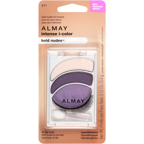 Almay Intense I-Color Bold Nudes Eyeshadow, 411, 0.12 oz