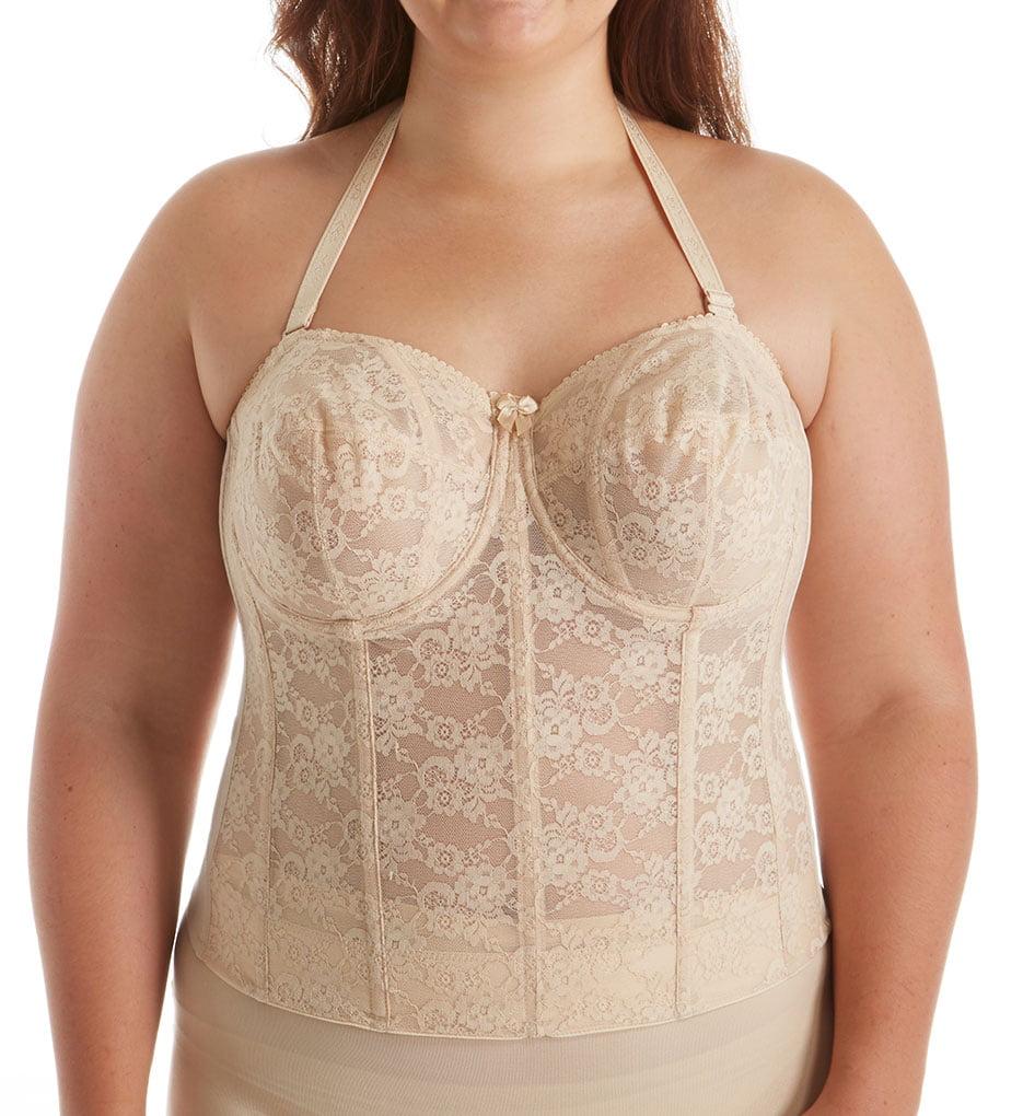 fe5534a8bea Elila - Women s Elila 6621 Lace Strapless Longline Bra - Walmart.com