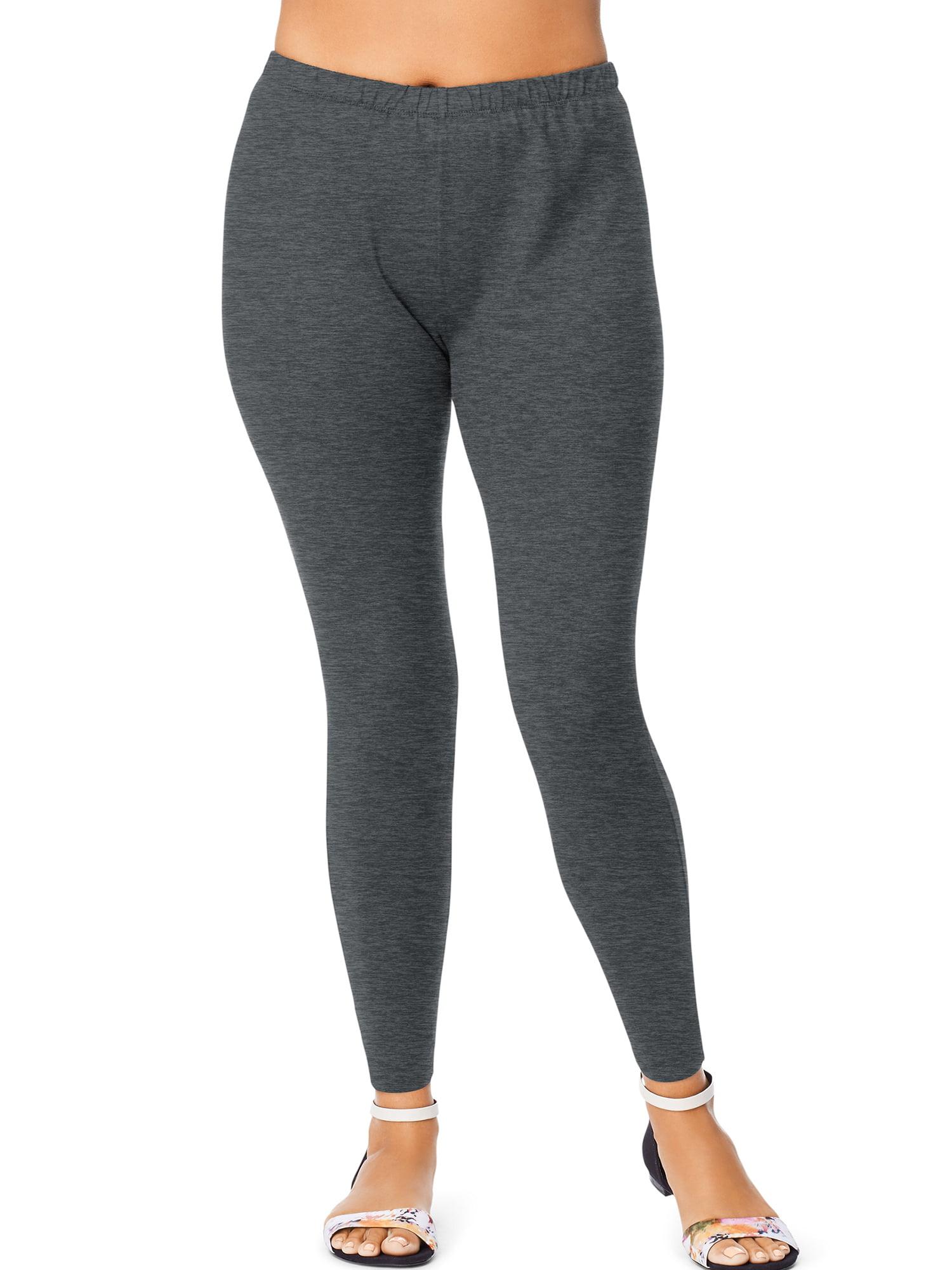 Women's Plus-Size Stretch Jersey Legging