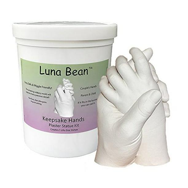 Luna Bean Keepsake Hands Plaster Statue Kit Walmart Com Walmart Com