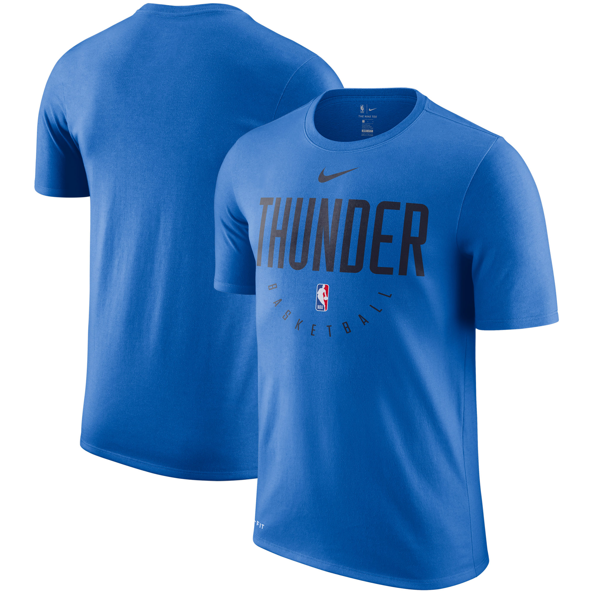 san francisco e2d1f 74265 Oklahoma City Thunder Nike Practice Legend Performance T-Shirt - Blue
