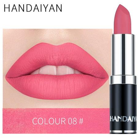 Long lasting Velvet Matte Makeup popular Lipsticks Set of 6 Premium Colors Net Wt.0.08oz