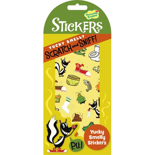 Yucky Smelly Scratch & Sniff Stickers by Peacable Kingdom