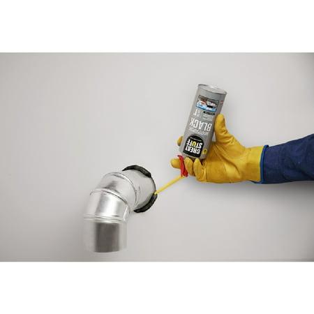 Great Stuff 99112876 Multipurpose Black Polyurethane Foam Insulating  Sealant, 12 Oz