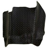 Classic Style Series Thermoplastic Elastomer Black Center Hump Floor Liner