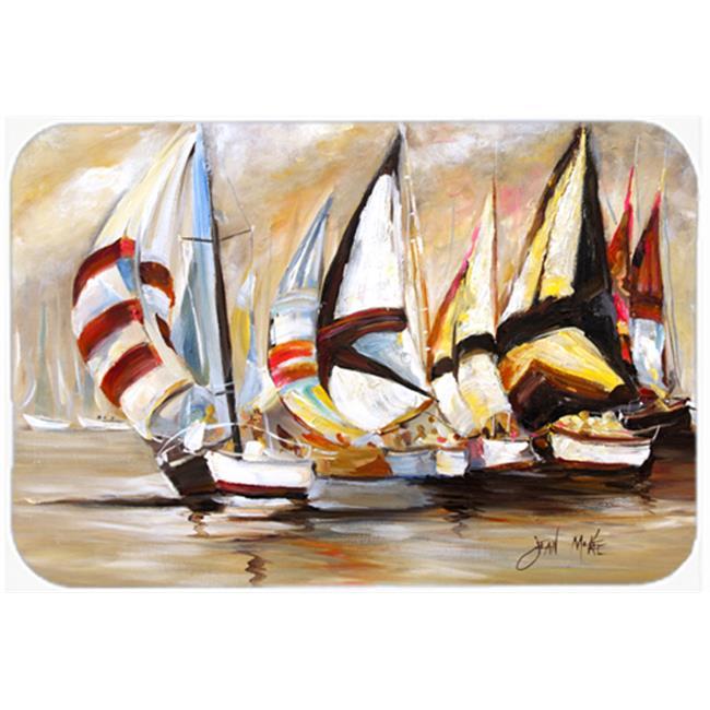 Carolines Treasures JMK1136JCMT Boat Binge Sailboats Kitchen & Bath Mat, 24 x 36 in. - image 1 of 1