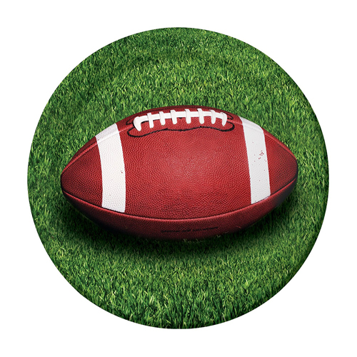 Football 'Sideline Strategy' Small Paper Plates (8ct)