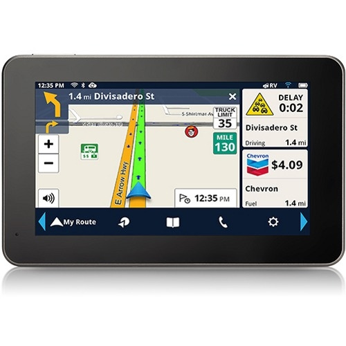 "Magellan Rv9490sgluc RoadMate RV9490T-LMB 7"" GPS Unit with Free Lifetime Map and Traffic Updates by Magellan"
