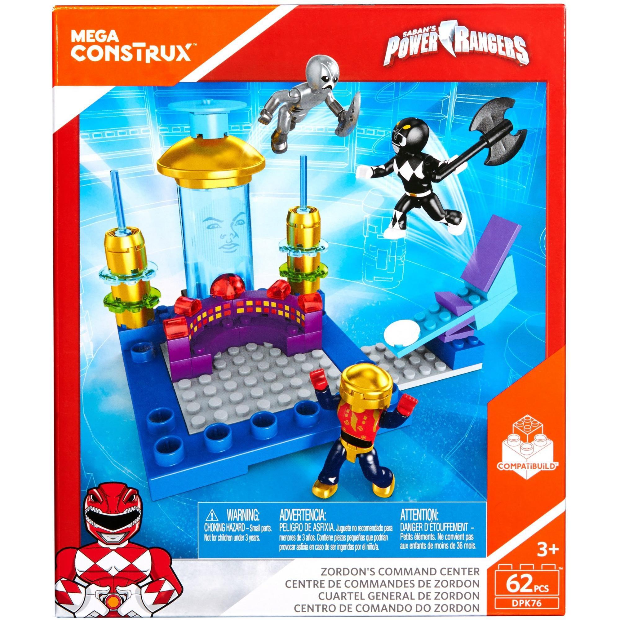 Mega Construx Power Rangers Zordon's Command Center by Mega Construx