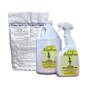 Eco Living Friendly for Bed Bugs and Perma-Guard Diatomaceous Earth Crawling Insect Control Combo / Non-Toxic, Natural, Safe Bedbug Killer / ELF 32 Oz Spray, 128 Oz Refill Bottle, and 2 lb DE Bag