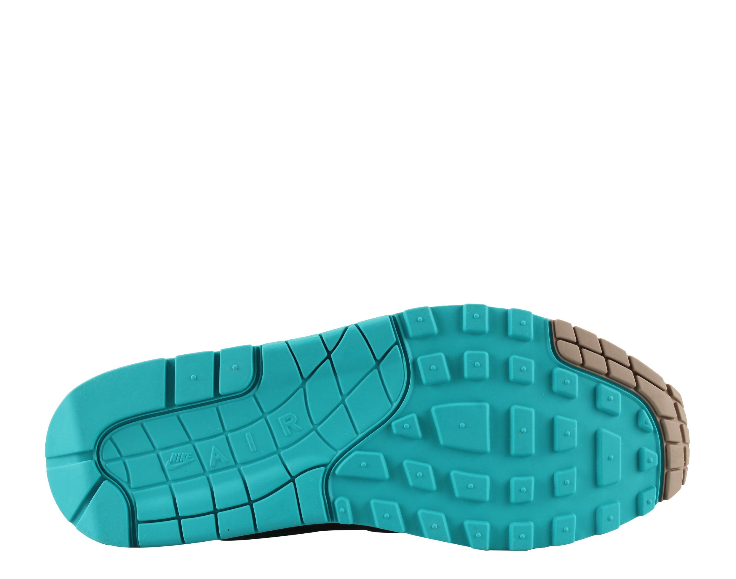 e635e892bd Nike - Mens Nike Air Max 1 Premium Ridgerock Turbo Green Khaki 875844-200 -  Walmart.com