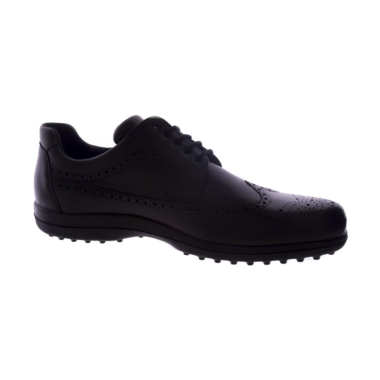 BALLY Golf Men Classic Leather Golf Shoes Black - Walmart.com b8e1e98a7011