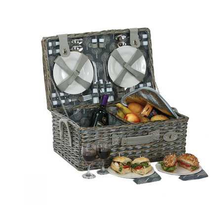 August Grove 4 Person Picnic Basket