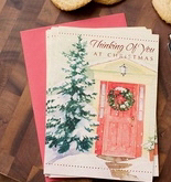 Card-Boxed-Thinking Of You At Christmas-1 John 4:9 NIV (Box Of 18)