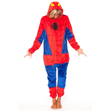 Spiderman Adult Onesie](Adult Spiderman Onesie)