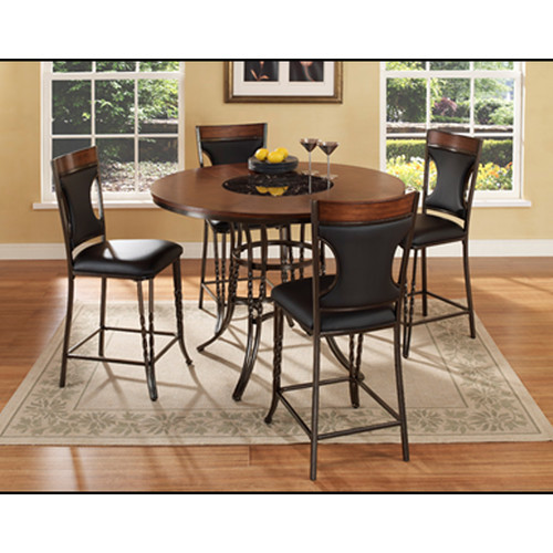 Superieur Ultimate Accents Dynasty 5 Piece Counter Height Dining Set