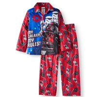 Lego Star Wars Button Up Star Wars Pajama Sleep Set (Big Boy & Little Boy)
