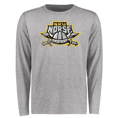 Northern Kentucky University Norse Big & Tall Classic Primary Long Sleeve T-Shirt - Ash (Womens Northern Lite Tall)