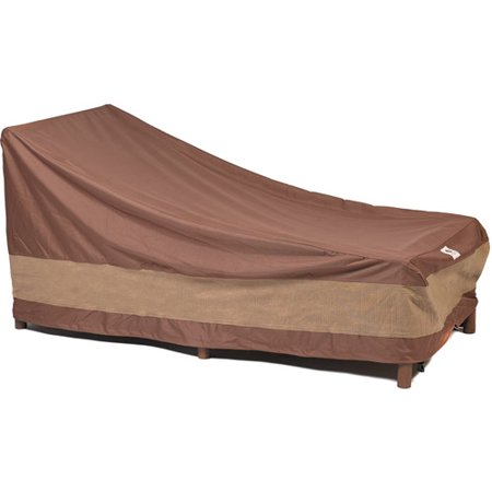 Duck covers ultimate 80 patio chaise lounge cover for Chaise lounge at walmart