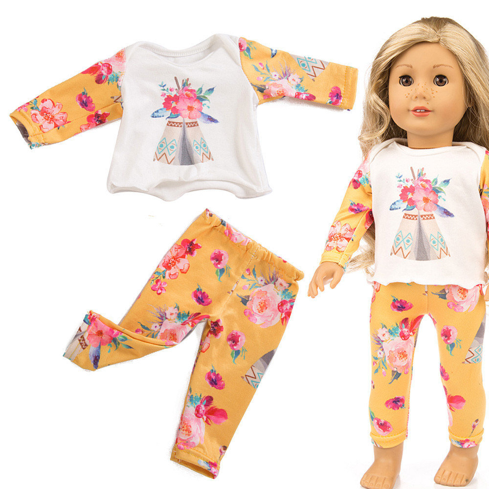 Beautiful Pajamas Clothes For 18 Inch American Doll Accessory Girl/'s Toys CH