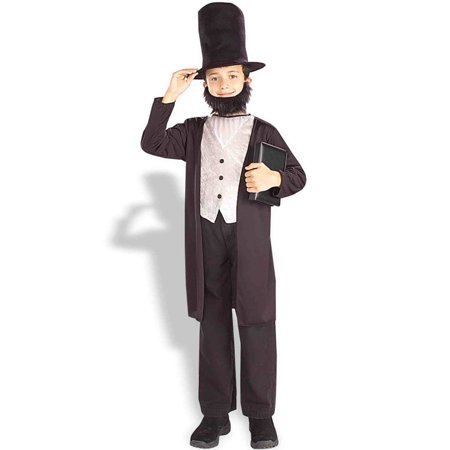 Abraham Lincoln Child Halloween Costume for $<!---->