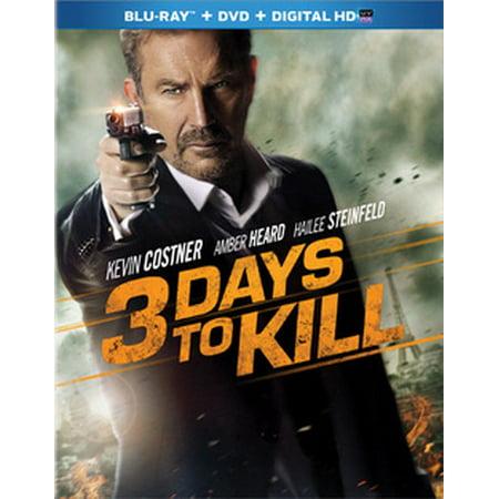 13 Days Of Halloween Day 3 (3 Days to Kill (Blu-ray))
