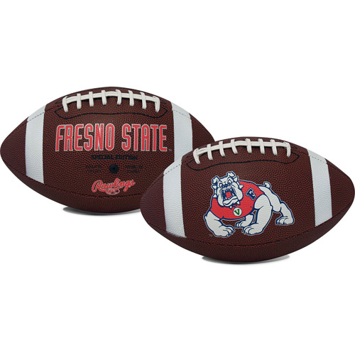 Fresno State University Bulldogs Rawlings Game Time Full Size Football Team Logo