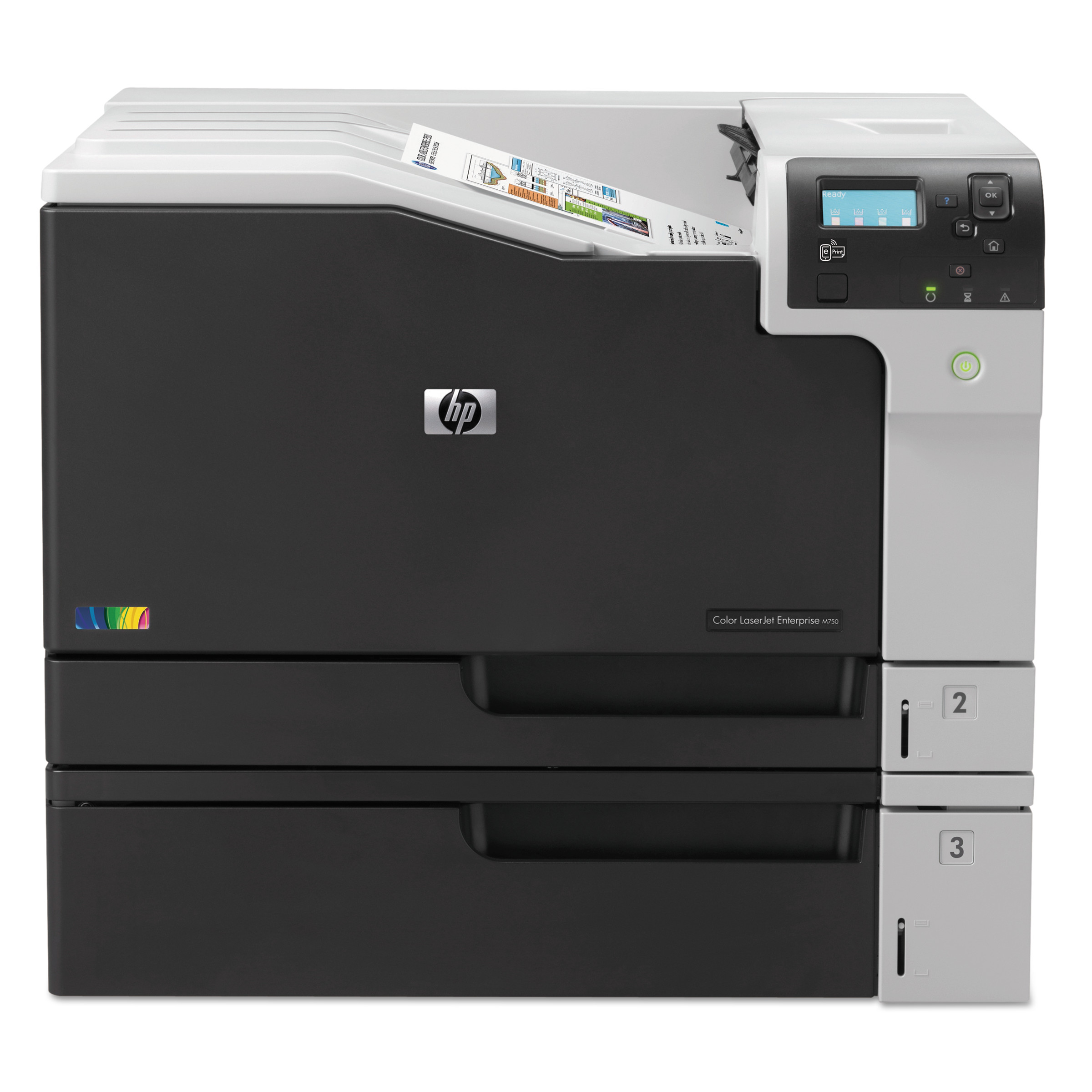 HP Color LaserJet Enterprise M750dn Laser Printer by HP