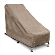 KoverRoos 32650 KoverRoos III Chair & Ottoman Cover, Taupe - 28 W x 54 D x 39 H in.