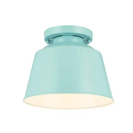 Murray Feiss SF314 Freemont 1 Light Semi-Flush Ceiling Fixture - Murray Feiss Ceiling Ceiling Light