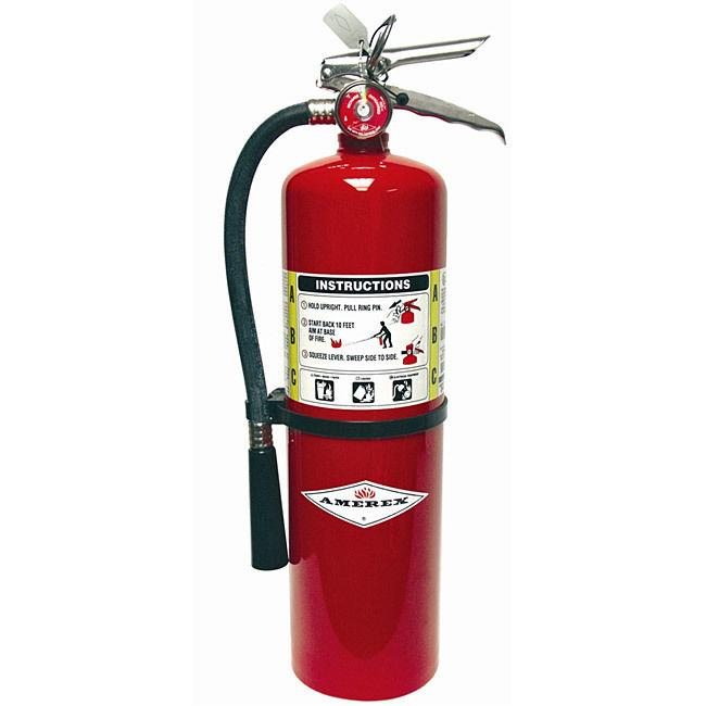 AMEREX Fire Extinguisher, Dry, ABC