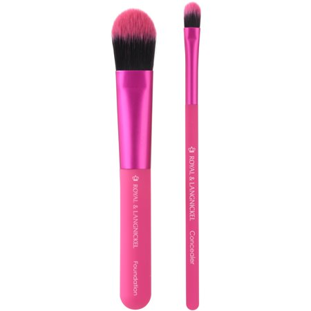 Moda Ez Glam Duo Perfect Complexion Pro Makeup Brushes 2